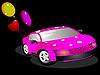 Векторный клипарт: Крутой автомобиль