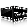 Vector clipart: The end