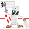 Vector clipart: The medical doctor