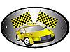 Векторный клипарт: Знак такси