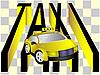 Vector clipart: The taxi