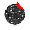 Vector clipart: Transpot sphere