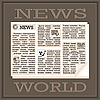 Vector clipart: World News