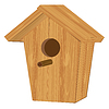 Vector clipart: house for birds