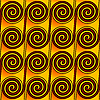 Vector clipart: Abstract seamless swirl pattern