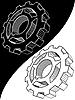 齿轮计划 | 光栅插图
