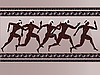 Vector clipart: Ancient Greek figures