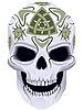 Vector clipart: death with celtic tattoo