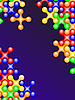 Vector clipart: color bubbles crosses