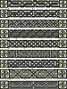 Векторный клипарт: орнаменты в кельтском стиле