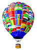 Photo 300 DPI: Balloon as symbol of globalization