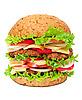Photo 300 DPI: Big hamburger