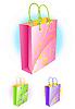 Vector clipart: shopping bags