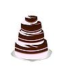 Векторный клипарт: юбилейный торт