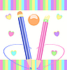 Vector clipart: Pencils