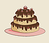 Vector clipart: cake