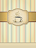 Vector clipart: cup of tea design