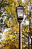 ID 3080194   Lantern in autumn park   High resolution stock photo   CLIPARTO