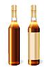Векторный клипарт: Бутылки коньяка