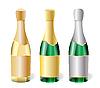 Векторный клипарт: бутылки шампанского