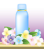Vector clipart: bottle of cosmetics