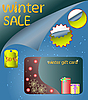 Winter sale | Stock Vector Graphics