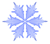 Vector clipart: snowflake