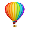 Векторный клипарт: Воздушный шар