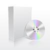 Векторный клипарт: окно программы и CD