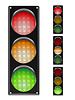 Vector clipart: traffic lights