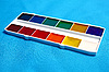 Coloured paints for drawing | Stock Foto