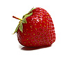 Photo 300 DPI: ripe strawberry