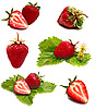 Ripe strawberries | Stock Foto