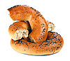 ID 3042226   Bagel with poppyseeds   High resolution stock photo   CLIPARTO