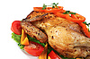 ID 3042407 | Fried hen with vegetables | High resolution stock photo | CLIPARTO