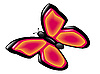 Vector clipart: butterfly