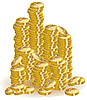 Vector clipart: gold coins
