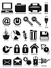 Vector clipart: internet web icons