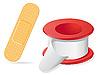 Векторный клипарт: медицинские штукатурка