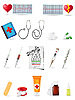 Icon medical set | Stock Vector Graphics