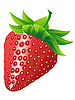 Vector clipart: ripe strawberry
