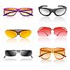 Векторный клипарт: солнечные очки