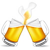 Vector clipart: jugs of beer