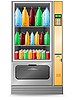 Vector clipart: vending water machine