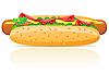 Hotdog | Stock Vector Graphics
