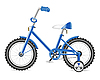Vector clipart: kids bicycle for boy