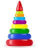 children pyramid toy