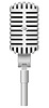 Vector clipart: old microphone