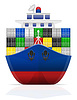 nautische Frachtschiff