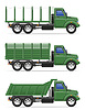 cargo truck for transportation of goods